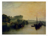 Petworth, Sussex, the Seat of the Earl of Egremont: Dewy Morning, 1810 Giclee Print by J. M. W. Turner