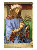 Portrait of Ptolemy, circa 1475 Giclee Print by Joos van Gent