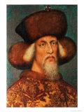 Emperor Sigismund (1368-1437), 1433 Giclee Print by Antonio Pisani Pisanello