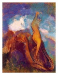 The Birth of Venus, 1912 (Pastel on Paper) Giclee Print by Odilon Redon