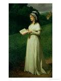 Portrait of Charlotte Corday (1768-93) Giclee Print by Joseph-Nicolas Robert-Fleury