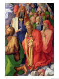 Landauer Altarpiece: King David, 1511 Giclee Print by Albrecht Dürer