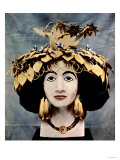 Sumerian Headdress Worn by Queen Shub-Ad, Discovered in Ur by Mr. C. Leonard Woolley Giclee Print
