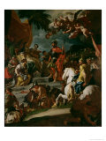 Barak and Deborah Giclee Print by Francesco Solimena