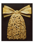 Woodcarving of a Cravat, by Grinling Gibbons (1648-1721) Giclee Print