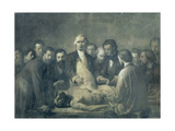 The Anatomy Lesson of Doctor Velpeau (1795-1867) Giclee Print by Francois Nicolas Augustin Feyen-Perrin