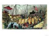 The Boston Tea Party Giclee Print