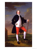 John Manners, Marquess of Granby, 1745 Giclee Print by Allan Ramsay