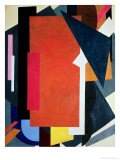 Painterly Architectonics, 1916-17 Giclée-tryk af Liubov Sergeevna Popova