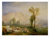 The Bright Stone of Honour (Ehrenbreitstein) and the Tomb of Marceau, 1835 Giclee Print by William Turner