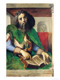 Portrait of Plato (429-347 BC) circa 1475 Giclee Print by Joos van Gent