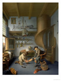 A Barber Surgeon Tending a Peasant's Foot, circa 1650 Giclee Print by Koedyck