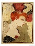 Mlle. Marcelle Lender, 1895 Giclee Print by Henri de Toulouse-Lautrec