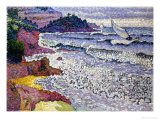 The Choppy Sea, 1902-3 Lámina giclée por Henri Edmond Cross
