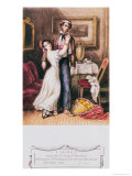 Carmen and Don Jose, 1846 Giclee Print by Prosper Merimee