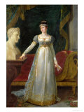 Marie Pauline Bonaparte (1780-1825) Princess Borghese, 1808 Giclee Print by Robert Lefevre