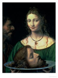 Salome with the Head of John the Baptist, circa 1525-30 Giclee Print by Bernardino Luini