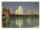 The Taj Mahal, 1874-76 Giclée-Druck von Vasilij Vereshchagin