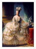 Marie Antoinette (1755-93) Queen of France, 1779 Reproduction proc&#233;d&#233; gicl&#233;e par Elisabeth Louise Vigee-LeBrun