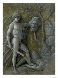 David with the Head of Goliath, circa 1490-95 Giclee Print by Andrea Mantegna
