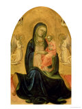 Madonna and Child, 1400 Giclee Print by Lorenzo Monaco