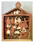 Attic Votive Tablet of Scenes of Initiation into the Eleusinian Mysteries, 4th Century BC Giclee Print