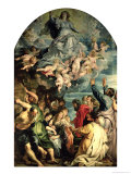 The Assumption of the Virgin Altarpiece, 1611/14 Giclee Print by Peter Paul Rubens