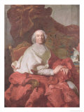 Cardinal Andre Hercule De Fleury, Bishop of Fregus and Prime Minister to Louis XV Giclee Print by Joseph Siffred Duplessis