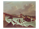The First Cotton Mill in America, Established by Samuel Slater (1768-1835)Pawtucket, Rhode Island Giclee Print