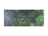 Waterlilies: Morning, 1914-18 (Right Section) Impressão giclée por Claude Monet