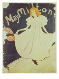 09:May Milton, France, 1895 Giclee Print by Henri de Toulouse-Lautrec