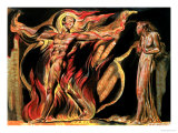 "Jerusalem the Emanation of the Giant Albion, ""Such Visions Have Appeared to Me,"" 1804 Giclée-Druck von William Blake"