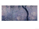 Waterlilies: Two Weeping Willows, Right Section, 1914-18 Giclee Print by Claude Monet