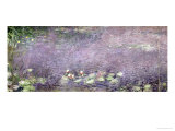 Waterlilies: Morning, 1914-18 (Centre Left Section) Giclee Print by Claude Monet
