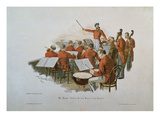The Johann Strauss Orchestra at a Court Ball Giclee Print by Theodore Zasche