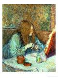 Madame Poupoule at Her Toilet, 1898 Giclee Print by Henri de Toulouse-Lautrec