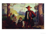 The James Brothers in Missouri Giclee Print by Newell Convers Wyeth