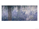 Waterlilies: Morning with Weeping Willows, 1914-18 (Right Section) Giclee Print by Claude Monet