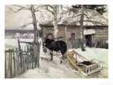 Winter, 1894 Giclee Print by Konstantin A. Korovin