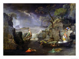 Winter, or the Flood, 1660-64 Giclee Print by Nicolas Poussin
