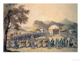 The Approach of the Emperor of China to His Tent in Tartary to Receive the British Ambassador Giclee Print by William Alexander