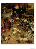 Triumph of Death, Detail of the Central Section, 1562 Giclee Print by Pieter Bruegel the Elder