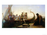 Lost Illusions, or Evening, Before 1843 Giclee Print by Charles Gleyre