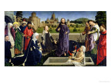 The Raising of Lazarus Giclée-Druck von Master of Coetivy