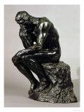 The Thinker (Le Penseur) Giclée-tryk af Auguste Rodin
