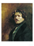 Self Portrait, circa 1837 Giclee Print by Eugene Delacroix