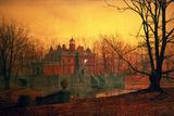 John Atkinson Grimshaw - The Haunted House Digitálně vytištěná reprodukce