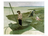 The Poor Fisherman, 1881 Giclee Print by Pierre Puvis de Chavannes