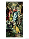 The Assumption of the Virgin Reproduction procédé giclée par El Greco