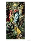 The Assumption of the Virgin Giclée-tryk af  El Greco